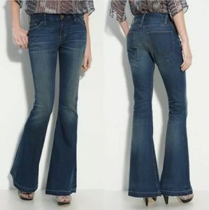 Current /Elliott The Low Bell Flare Jeans Sz 26